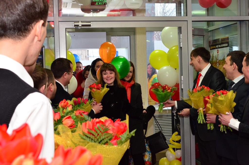 поздравление коллег с 8 марта